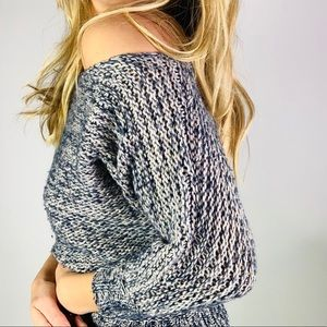 Anthropologie off the shoulder slouchy sweater xs